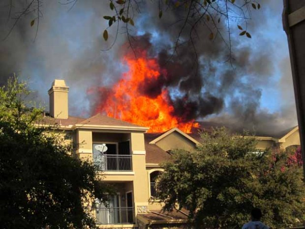 Fire Displaces Families Day After Thanksgiving