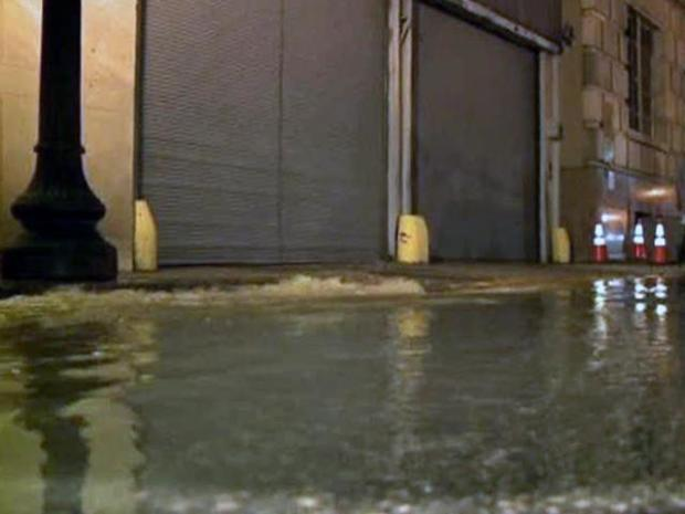 [DFW] Mopping Up Flooded Dallas Co. Records Building