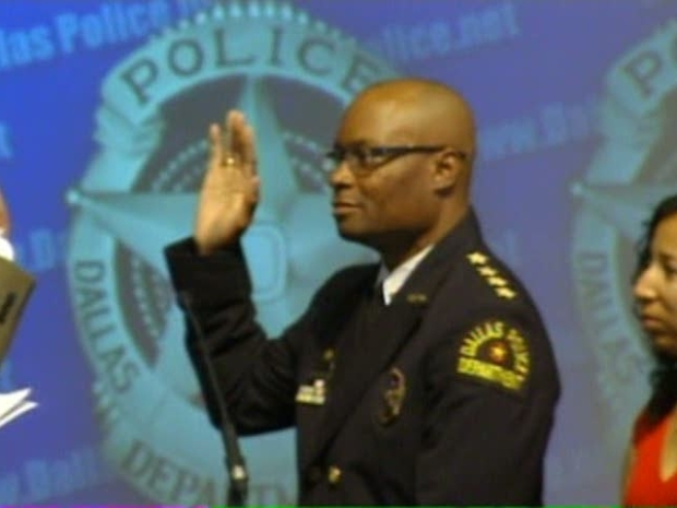 [DFW] David Brown Sworn in as Chief of Police
