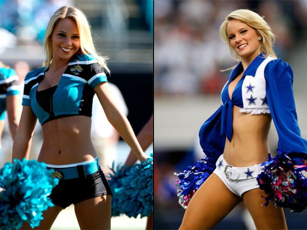 Who's Hotter? Jaguars or Cowboys Cheerleaders?