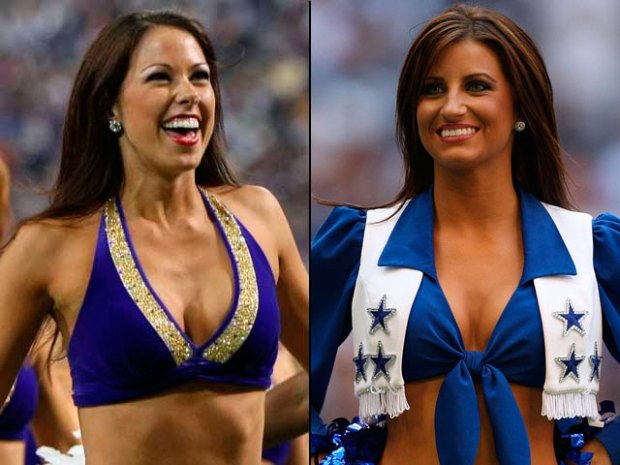 Who's Hotter? Vikings or Cowboys Cheerleaders?