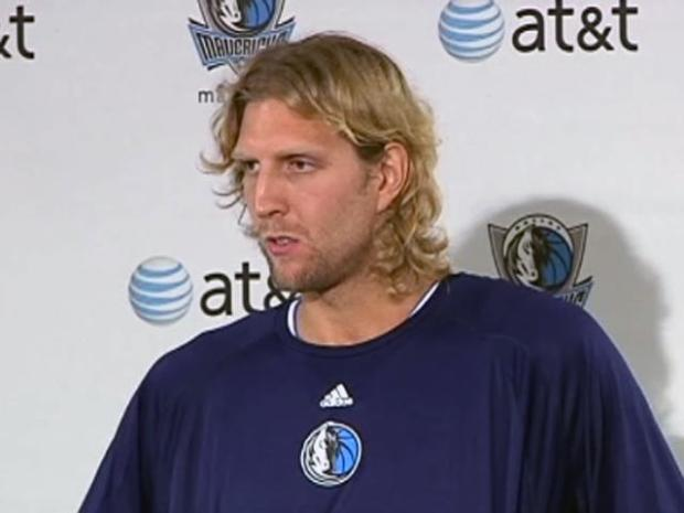 "[DFW] ""I'm Looking Forward to Playing Basketball Again"": Dirk"