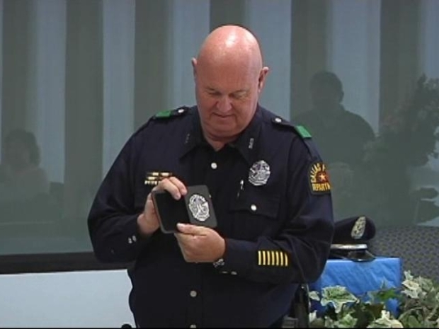 [DFW] Longtime Dallas Police Officer Retires