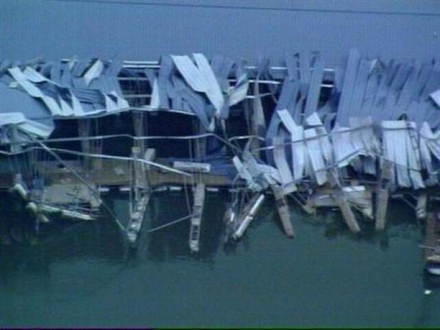 [DFW] Storm Damages Eagle Mountain Marina