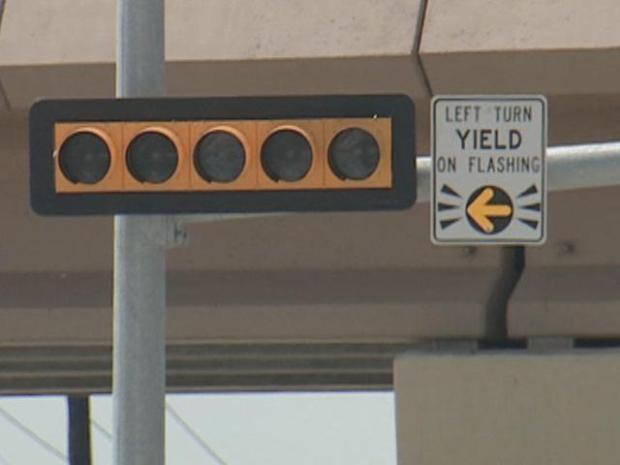 [DFW] Sign of the Times: Blinking Left-Turn Signals