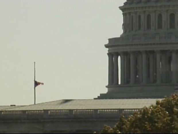 [DFW] Flags on Capitol Hill Fly at Half-Staff