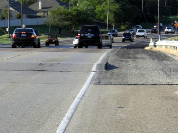 [DFW] Highway Buckles in North Texas Heat Wave