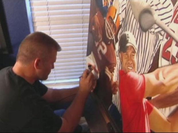 [DFW] Postman Finds Passion in Sports And Paint