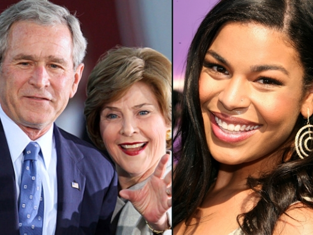 [DFW] Bushes, Jordin Sparks Kickoff Super Bowl Initiative