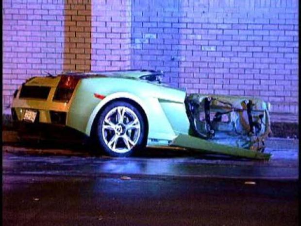 [DFW] Lamborghini Split in Half After Crash