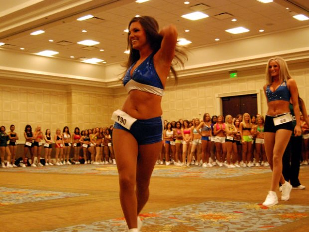 2007 Dallas Mavericks Dancers Tryouts