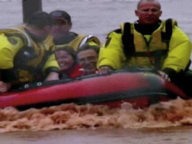 [DFW] Raw Video: Oklahoma City Flooding