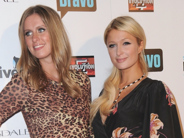 "[NATL] Paris & Nicky Hilton Talk Up Beverly Hills ""Housewives"""