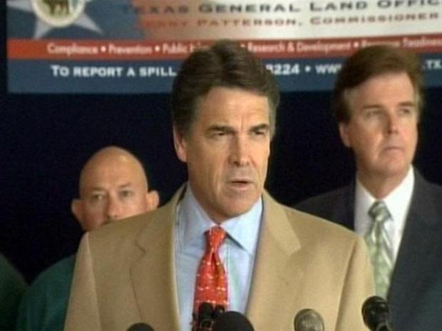 [DFW] Gov. Rick Perry on Oil Spill, Hurricane Alex Preps