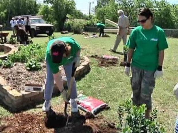 [DFW] Spending Earth Day at Briscoe Elementary School