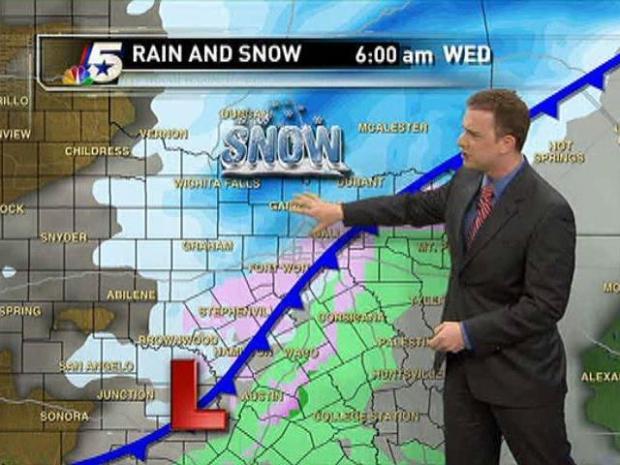 [DFW] Video Forecast - PM - Feb. 8,  2011