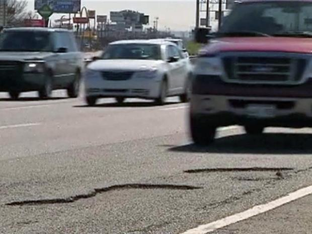 [DFW] Snow Leaves Thousands of Potholes Behind