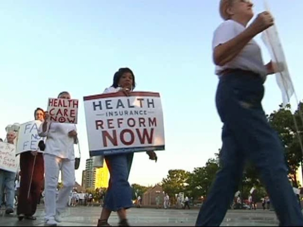 [DFW] Protestors Square Off Outside Health Care Panel