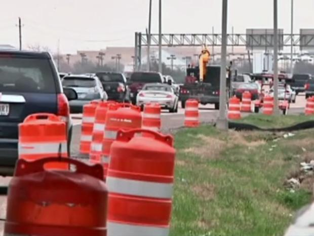 [DFW] Police Worry About Distracted Drivers in Construction Zone