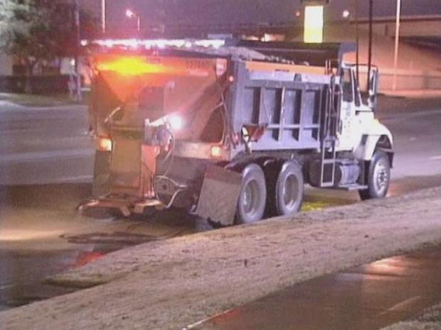 [DFW] Road Crews Ready for Another Round