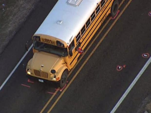 [DFW] Pickup Fatally Strikes 7-Year-Old Exiting School Bus