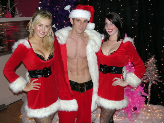 Meet Sexy Santa and the Peppermint Patties