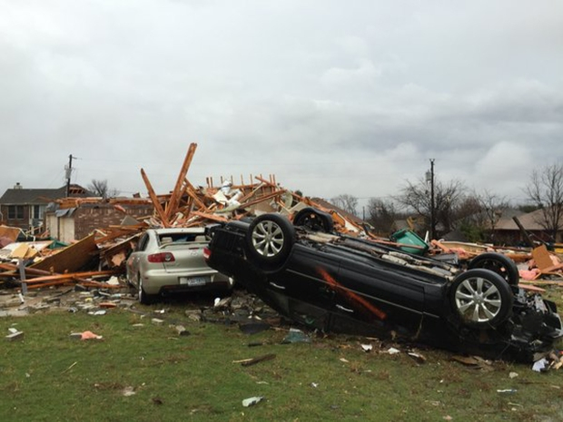 [DFW] National Weather Service Surveys Storm Damage