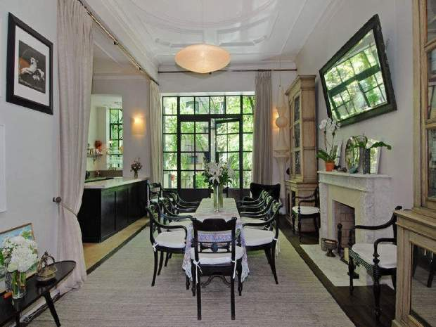 Uma Thurman's Greenwich Village Townhouse Sells for $14.2M