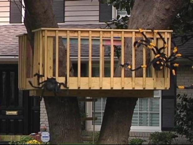 [DFW] University Park Nixes Kids' Tree House
