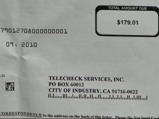 [DFW] Woman: I Didn't Fall for Check Scam
