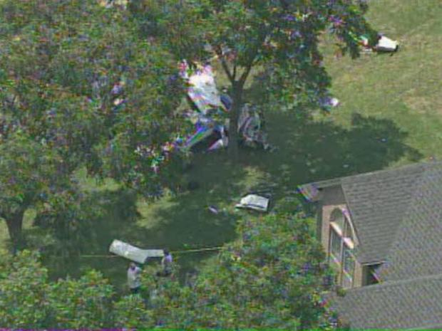 [DFW] Plane Crashes into Granbury Neighborhood