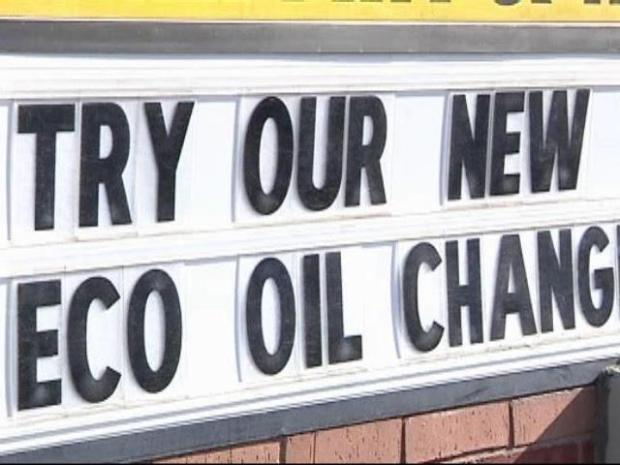 [DFW] Environmentally Friendly Oil Change
