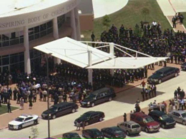 [DFW] Funeral for Officer Craig Shaw