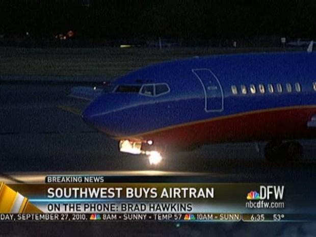 [DFW] Southwest to Buy AirTran