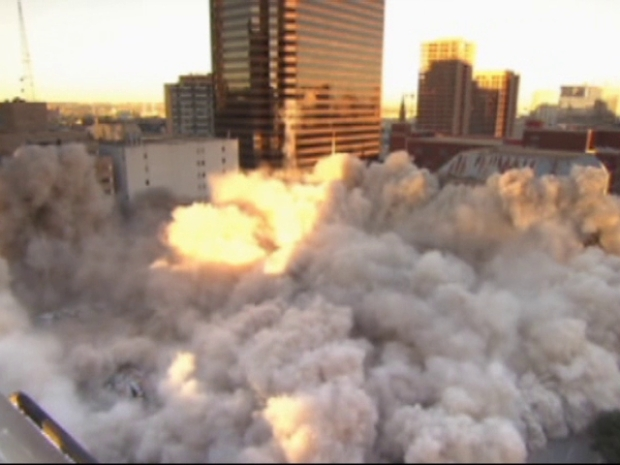 [DFW] Downtown Dallas Church Goes Boom
