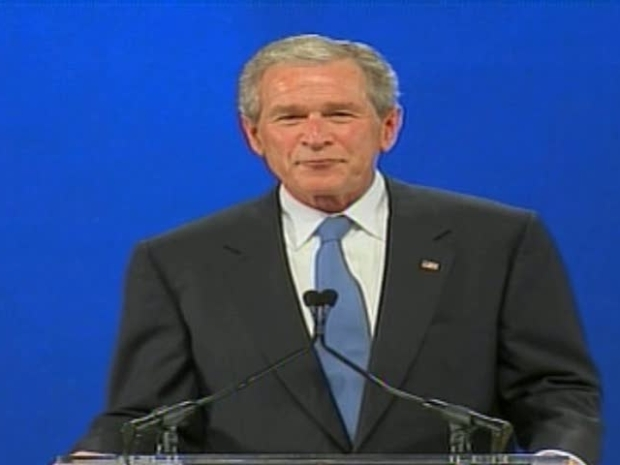[DFW] Bush Speaks at Presidential Center Groundbreaking