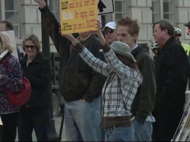 [DFW] Demonstrators Demand Decorum and Respect