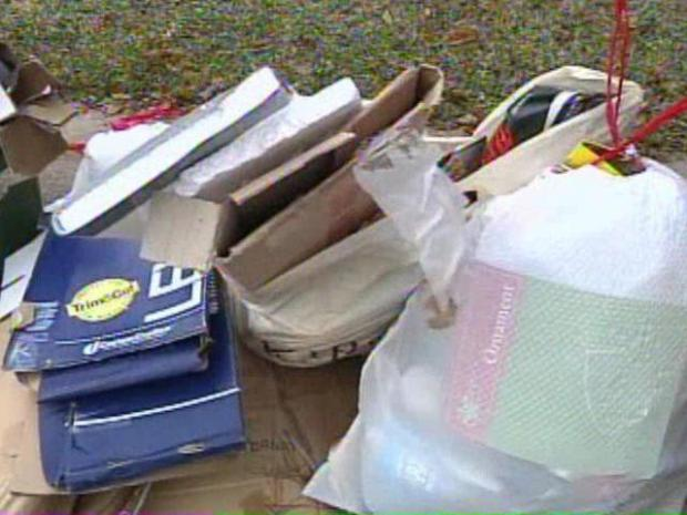 [DFW] Your Holiday Trash is Burglars' Shopping List