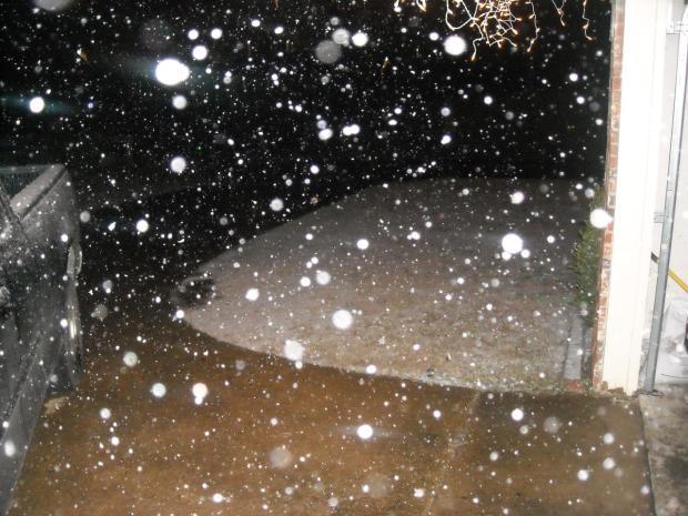 North Texas Snow - Dec. 9, 2008