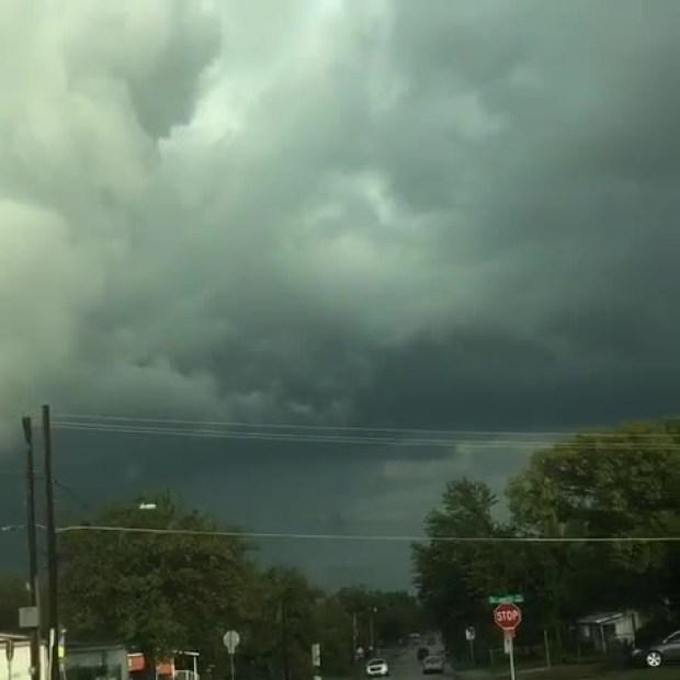 Clouds of tornado