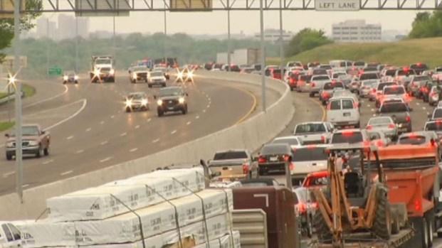 [DFW] Crash Causes Huge Headache for Drivers