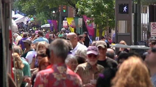 [DFW] Main Street Arts Fest is Big Business