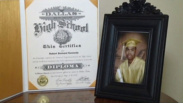 [DFW] 5 Years Later, Dallas Student Receives Diploma
