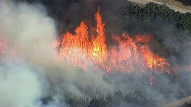 [DFW] PK Fire Creeps Closer to Graham