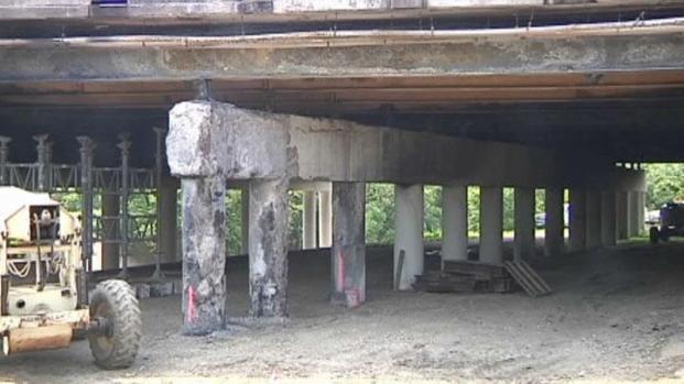 [DFW] Work on I-30 Bridge in FW Under Way