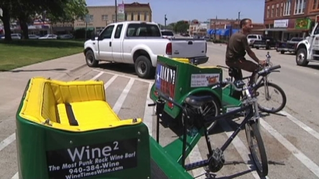 [DFW] A-Train Brings Pedicabs to Denton