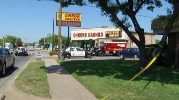 [DFW] Armored Car Robbery in Fort Worth