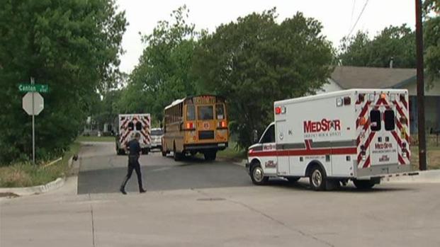 [DFW] FWISD School Bus Accident