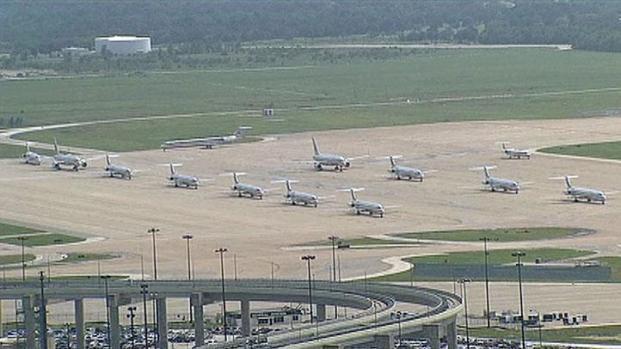 [DFW] Flights Halted at DFW Monday