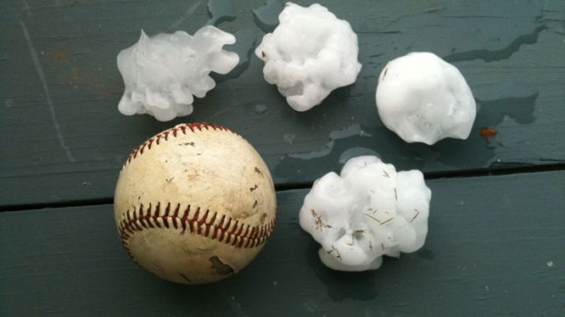 Your Photos: May 24 Hail